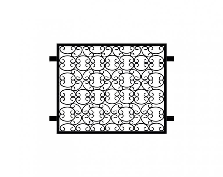 zauncenter 2000 fenstergitter rustikal zeichnung